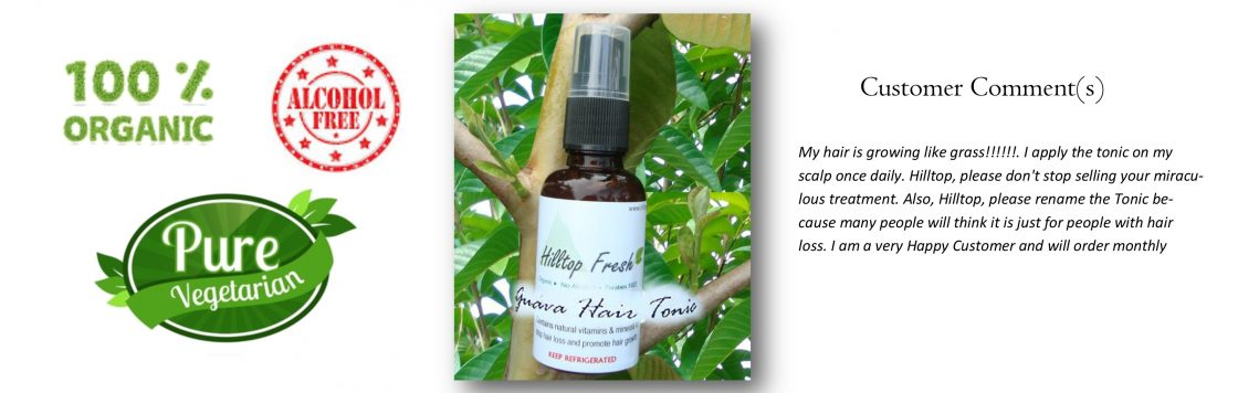 Guava Hair Tonic